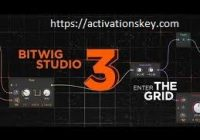 Bitwig Studio 3.1.1 Crack Serial Key Torrent 2020