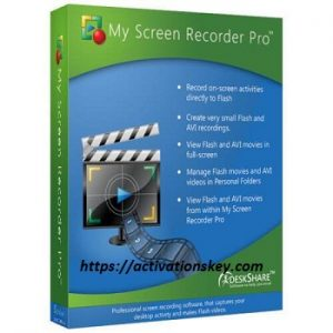 My Screen Recorder Pro 5 Crack With License Key 2020